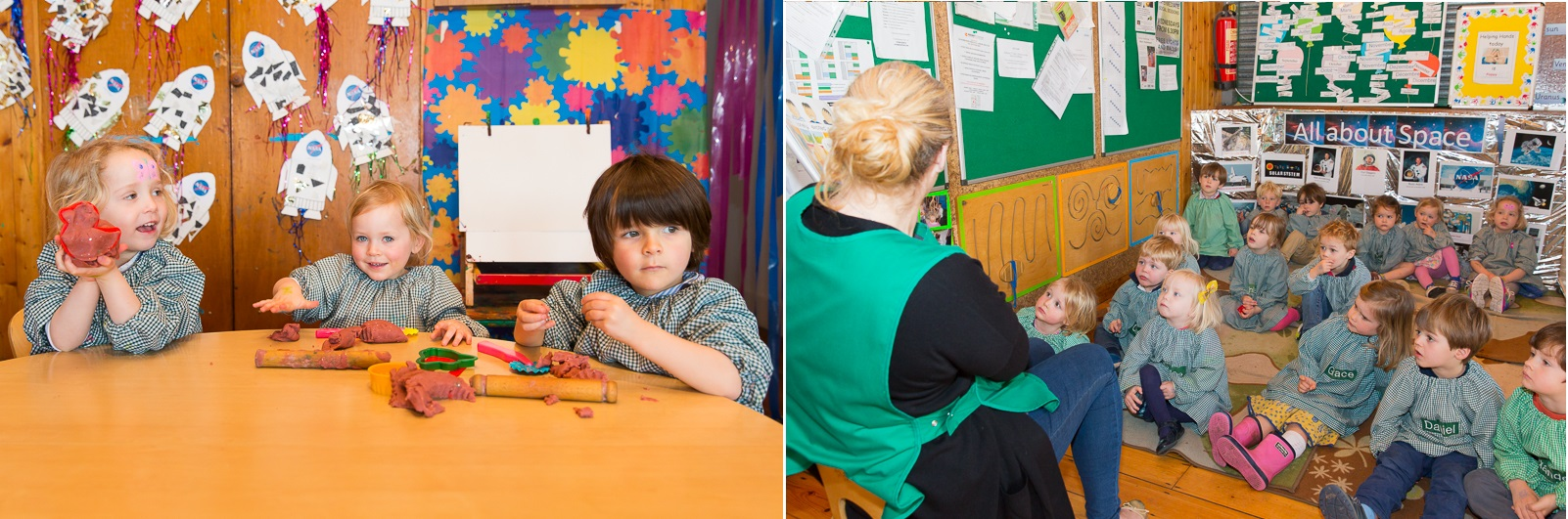 A school day at Schoolroom Two Montessori nursery
